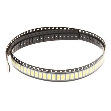 0.5W 5630SMD 5730SMD 50-55LM 6000K Soğuk Beyaz Işık Dize Par (3.3-3.6V, 100pcs) LED
