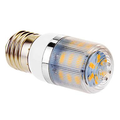 360 lm E26/E27 LED Mısır Işıklar T 24 led SMD 5730 Sıcak Beyaz AC 220-240V