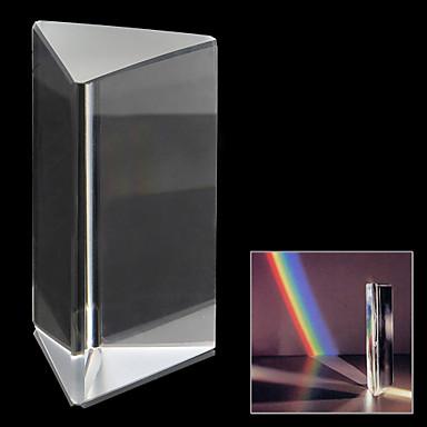 Transparent High Quality Optical Triangular Prism