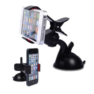 Araba Evrensel Cep Telefonu Montaj Standı Tutucu 360° Dönüş Evrensel Cep Telefonu Plastik Tutacak