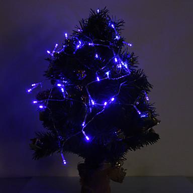 4m 40 LED-uri albastru de Crăciun decorative lampă serie de baterii alimentate