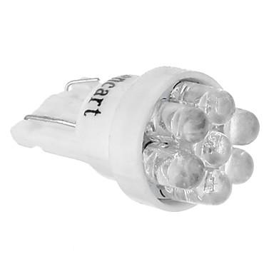 T10 Araba Soğuk Beyaz 6000-6500 Gösterge Işıkları Plaka Aydınlatma Lambası Sinyal Lambası Fren Işığı