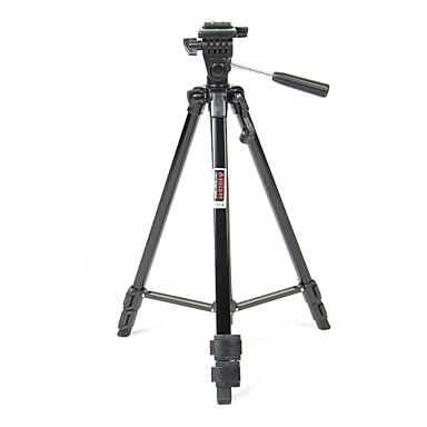 Alüminyum 60mm Bölümler Dijital Kamera Tripod
