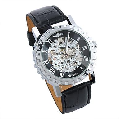 Men'S Selekton Auto Mechanical White Wrist Watch Cool Watch Unique Watch