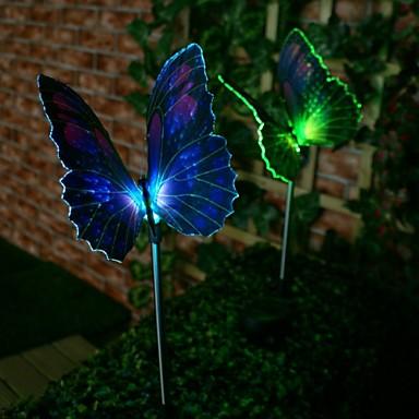 1 buc Lumini de gazon 1 LED-uri de margele LED Putere Mare Decorativ Multicolor