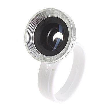 Universal Detachable 0.65X Wide Angle Macro Lens with Pouch and Clip