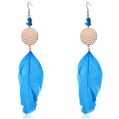 Dames Druppel oorbellen Bohémien Modieus Veer Veer Sieraden Feest Dagelijks Causaal Kostuum juwelen