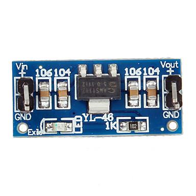 5V Ams1117-5.0V Güç Kaynağı Modülü Ams1117 Yeni 6.0V-12V