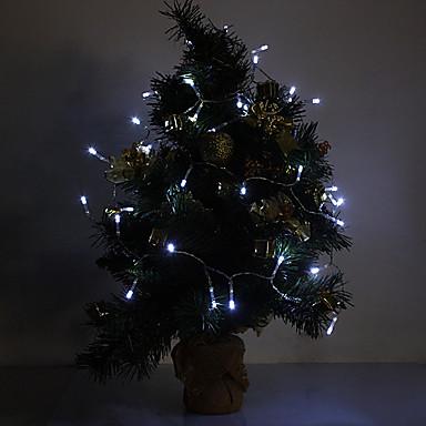 Noel Dekorasyon için 4M 3W 40-LED 210LM Beyaz Işık LED Şerit Işık