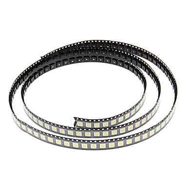 DIY 5050SMD 10-17LM 6000-6500K Soğuk Beyaz Işık LED Chip (2.8-3.6V/100pcs)