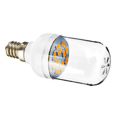 E12 LED Σποτάκια 12 SMD 5730 90-120 lm Θερμό Λευκό 2800-3200 κ AC 220-240 V