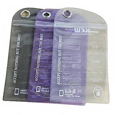 단색 아이폰 5/5S를위한 방수 비닐 봉투 (색상 랜덤)