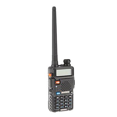 Baofeng UHF / VHF 400-480/136-174MHz 4W/1W VOX İki Yönlü Radyo Walkie Talkie Telsiz İnterkom