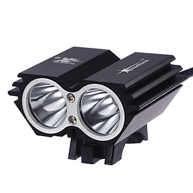 Headlamps LED 2000 Lumens 3 Mode Cree XM-L2 T6 Yes Rechargeable Waterproof Super Light Compact Size Small Size for Camping/Hiking/Caving
