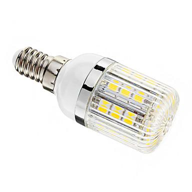E14 LED Mısır Işıklar T 30 led SMD 5050 Kısılabilir Sıcak Beyaz 400lm 3000-3500K AC 220-240V