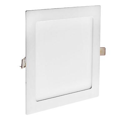 Zdm® 1pc 18W 90 leds gömme / kolay kurulum led panel ışıkları / led sarkıt doğal beyaz / soğuk beyaz / sıcak beyaz 85-265 v montaj deliği 210mm