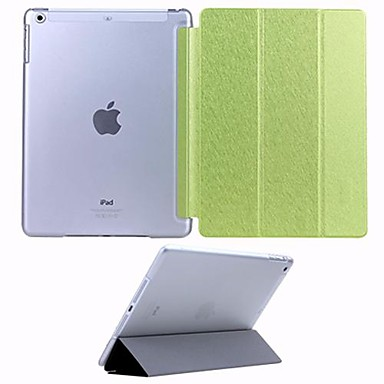 Silk Print PU Leather Case for the iPad Air(Assorted Colors)