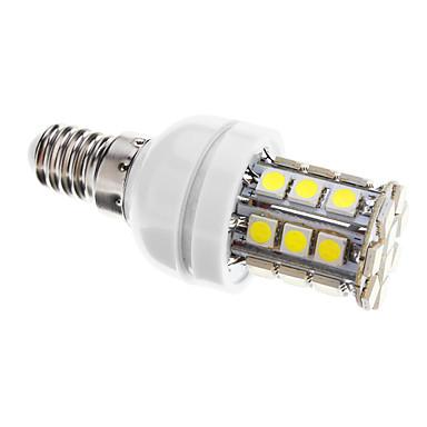 400 lm E14 LED Mısır Işıklar T 30 led SMD 5050 Kısılabilir Serin Beyaz AC 220-240V