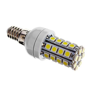 480 lm E14 LED Mısır Işıklar T 36 led SMD 5050 Kısılabilir Serin Beyaz AC 220-240V