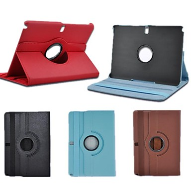 Neppt Rotating Stand Protective Cover Case for Samsung Galaxy Note 10.1 2014 Edition P600(Assorted Colors)