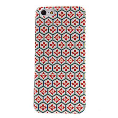 Için iPhone 5 Kılıf Temalı Pouzdro Arka Kılıf Pouzdro Geometrik Desenli Sert PCiPhone 7 Plus / iPhone 7 / iPhone 6s Plus/6 Plus / iPhone