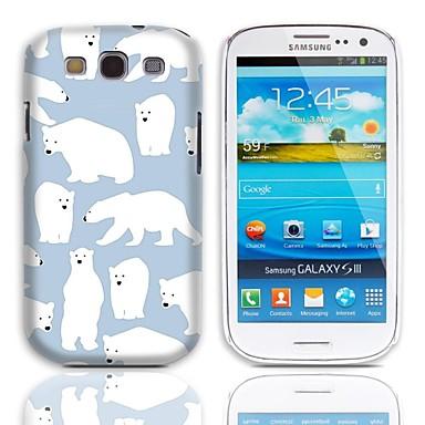 Için Samsung Galaxy Kılıf Temalı Pouzdro Arka Kılıf Pouzdro Hayvan PC Samsung S3