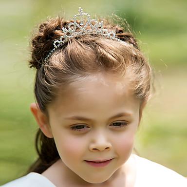 Yapay Elmas alaşım Çiçek  -  Tiaras Headbands Başlık 1pc Düğün Özel Anlar Başlık