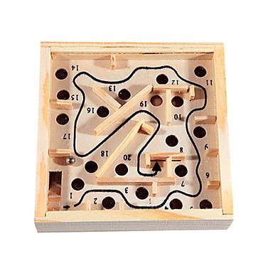 Labyrinthe Labyrinthe en bois Jouets Amusement Bois Classique Pièces Enfant Cadeau