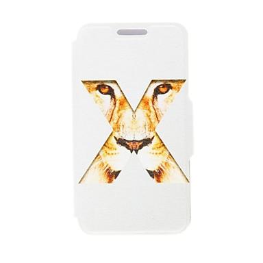 Kinston X Tiger ochi de model PU piele Full Body caz cu Stand pentru Sony Xperia Z2