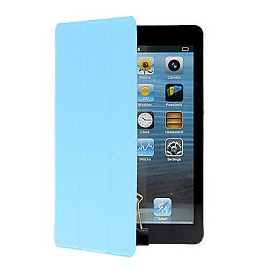 Pouzdro Uyumluluk Apple Satandlı / Origami Tam Kaplama Kılıf Solid Sert PU Deri için iPad Mini 3/2/1 / iPad Mini 4 / Apple