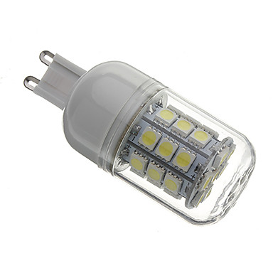 G9 LED Corn Lights T 30 SMD 5050 330lm Natural White 5500K AC 110-130 AC 220-240V