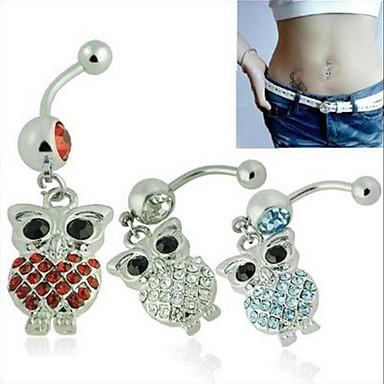 Pentru femei Bijuterii de corp Navel & Bell Button Rings Cristal Bijuterii Pentru Zilnic Casual