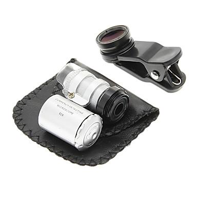 Cep Telefonu Clip ve Set 60 Defa büyütülmesi Lens