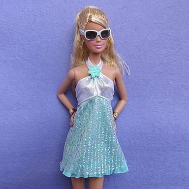 Günlük Kostümler İçin Barbie Bebek Polyester Daha Fazla Aksesuarlar İçin Kız Oyuncak bebek