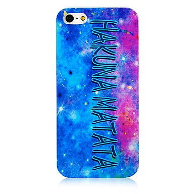 Colorful Sky  Pattern Hard Back Case for iPhone5/5S