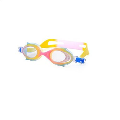 Coway Candy Color Mirror Swimming Waterproof Antifogging Children Swimming Goggles(Random Color)