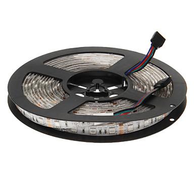 5m 300 LED'ler 5050 SMD RGB Su Geçirmez 12 V / IP65