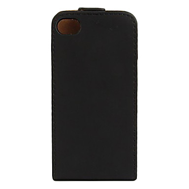 Case For iPhone 4/4S Full Body Cases Hard PU Leather for