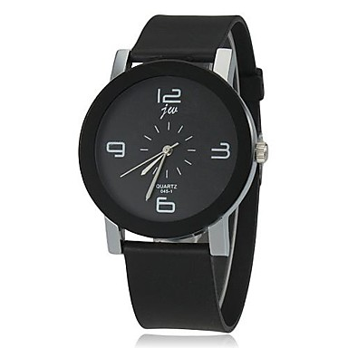 Women's Wrist Watch Casual Watch Silicone Band Charm / Fashion Black / One Year / SSUO LR626