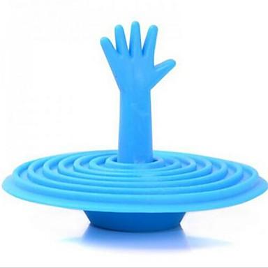 çağdaş el şekli sillicon jel küvet fişi banyo gadget'ı