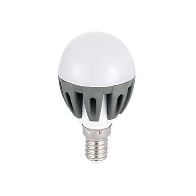 E14 Lâmpada Redonda LED G45 18 SMD 2835 300lm lm Branco Quente Branco Frio 3000K K Decorativa AC 220-240 V