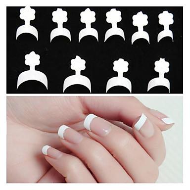 100pcs Pentru deget nail art pedichiura si manichiura Abstract / Clasic Zilnic