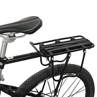Bike Cargo Rack Ciclism / Bicicletă Aliaj din aluminiu Negru