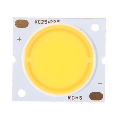 ieftine Accesorii LED-zdm® 1pc cub integrat 30w condus natural alb 4000-4500k 2800-3000 lm luminos pur sârmă de aur condus led cip pentru suprafață luminiscente 20mm (dc30-34v 800-900ma)