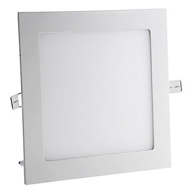 15W 1200lm 3000-3500K Sıcak Beyaz LED panel ışıkları (AC 85-265V)