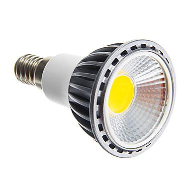 6W 250-300 lm E14 E26/E27 LED Spotlight leds COB Dimmable Warm White Cold White AC 220-240V