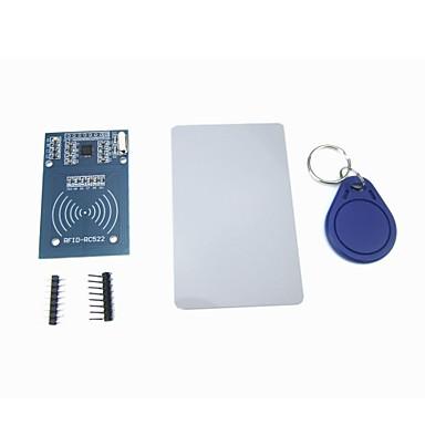 ücretsiz s50 kartı anahtarlık ile PMUM-522 rc522 rfid modülü ic kartı indüksiyon sensörü