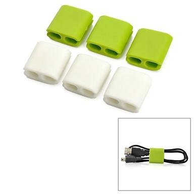 billige Kabler og adaptere-yuanbotong wire klip kabel manager (6 stk)