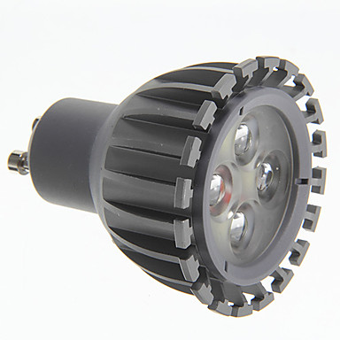 7W GU10 LED Spotlight 3 High Power LED 500 lm Cool White AC 100-240 V