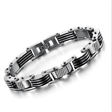 z&X® erkek moda basit serin titanyum çelik bilezik
